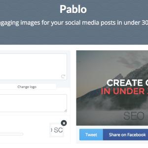 たった30秒でイケてるFacebook用OGP画像が作れてしまう「Pablo」が超便利!